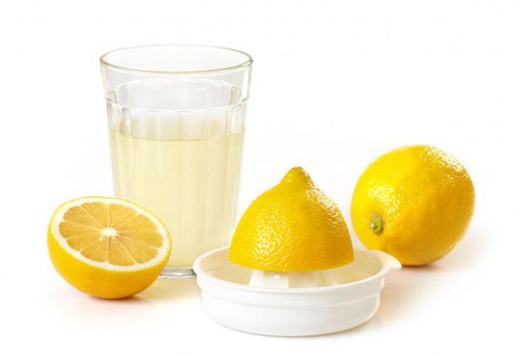 Полстакана сока лимона