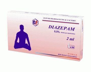Диазепам – лекарство