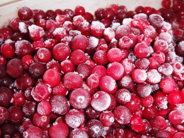 Замороженные ягоды калины для чая