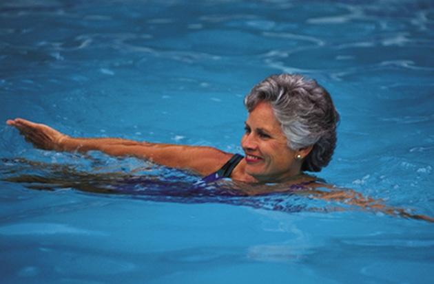 Плавание для работы всей сердечно-сосудистой системы