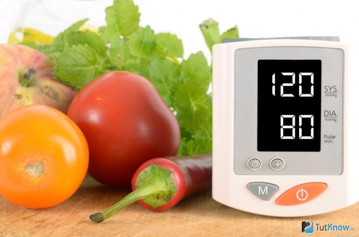Обзор продуктов, снижающих давление при гипертонии