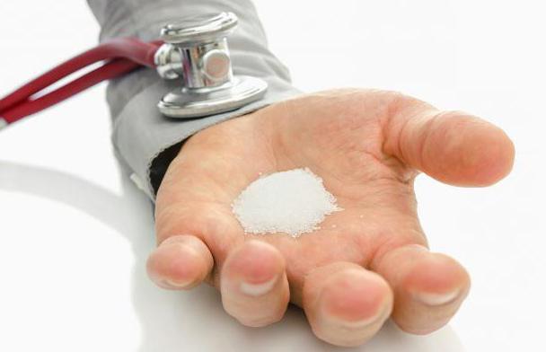 Количество соли нужно уменьшить до 3-4 г в день
