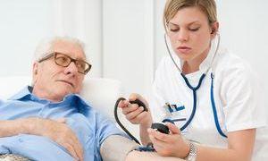 Темп снижения АД у пожилых
