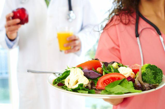 Необходимо скорректировать питание при гипертонии